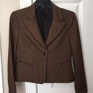 Brown BCBG wool jacket